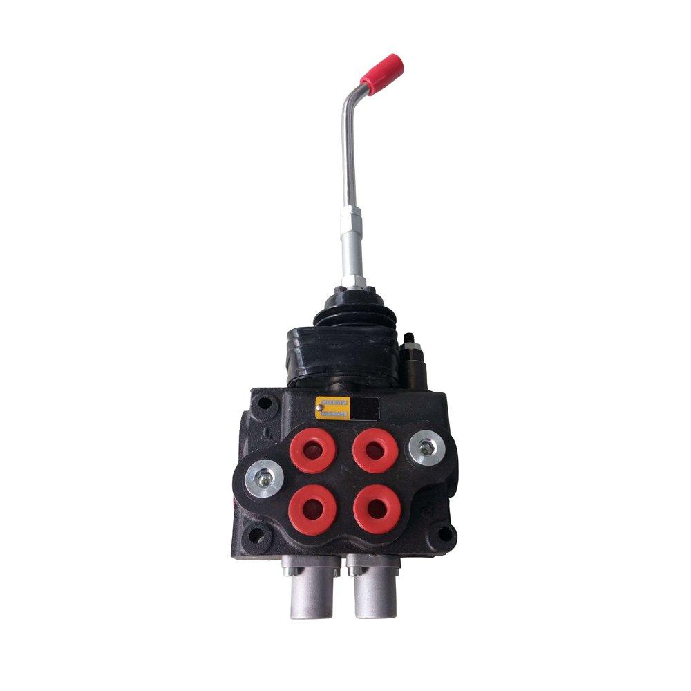 Hydraulic Loader Directional Control Valve LV22RFSTKAB Joystick Regen - 10GPM 4000PSI