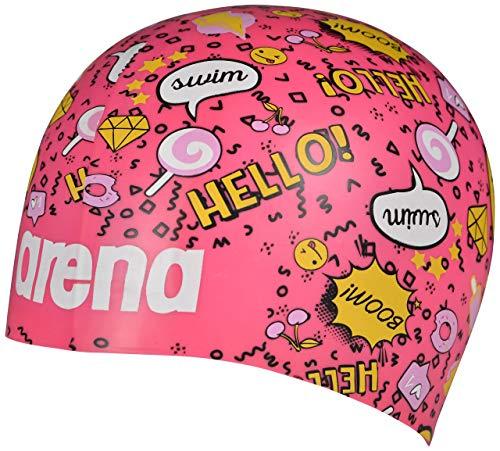 Arena Poolish Moulded Swim Cap, Fantasy Pink