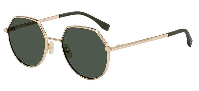 Fendi Gafas de Sol AROUND FF M0029/S GOLD/GREEN hombre ...