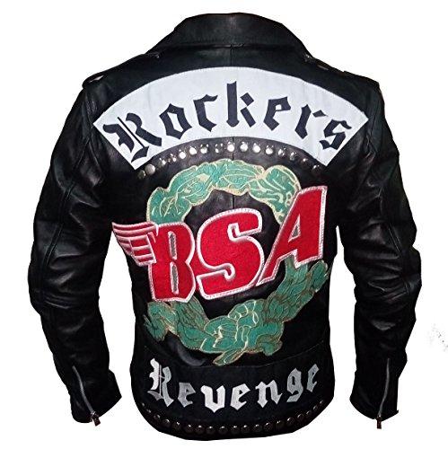 aith George Michael Rockers Revenge Jacket (Black, M) ()