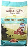 Whole Earth Farms Grain Free Recipe Dry Cat Food, Turkey and Duck, 5 lb.