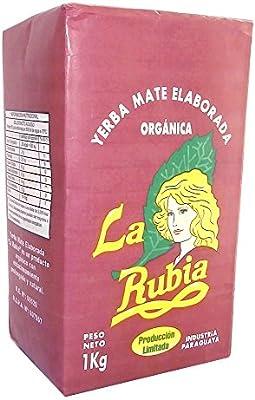 La Rubia Organic Yerba Mate with Stems 1 kg (2.2 lbs)