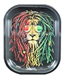 Smoke Arsenal Rasta Lion Rolling Tray