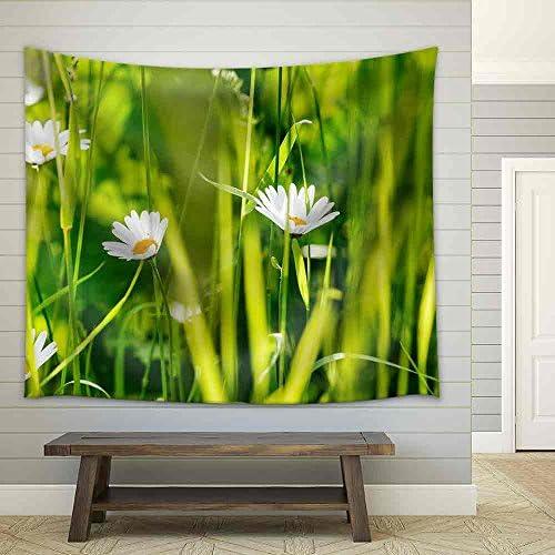 Summer Meadow Fabric Wall