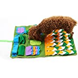 PROKTH Dog Snuffle Mat for Small Large Dogs, Dog Nosework Blanket, Dog Toy Mat, Nose Work Mat for Dogs, Dog Play Mat Sniffing Training Pad Fun Mats, Great for Stress Release
