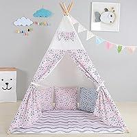 Tipi en Panda de qualité supérieure Tente de jeu pour enfants / Cabane pour enfants / Tente indienne par integrity co