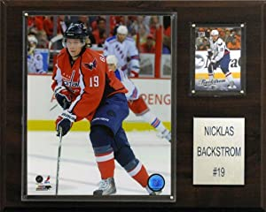 NHL Nicklas Backstrom Washington Capitals Player Plaque