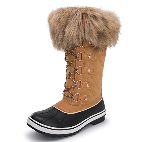 1707wheat Kingshow Waterproof Globalwin Winter Boots Women's Aqr7Xxnq