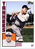 #10: 2012 Topps Archives #189 Babe Ruth - New York Yankees (Baseball Cards)