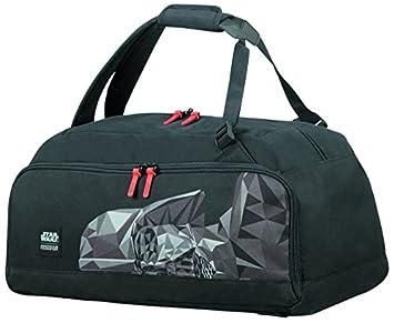 American tourister - Disney Grab'N'Go - Star Wars Backpack/Duffle Bag Gym Tote, 54 cm, 49 liters, Multicolour (Stormtrooper Geometric)