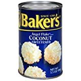 Baker's Angel Flake, 3.5-Ounce Packages (Pack of 24)
