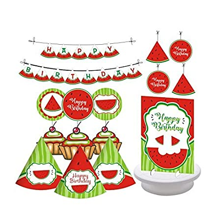 Watermelon Decorations - Set de 27 piezas de accesorios para ...