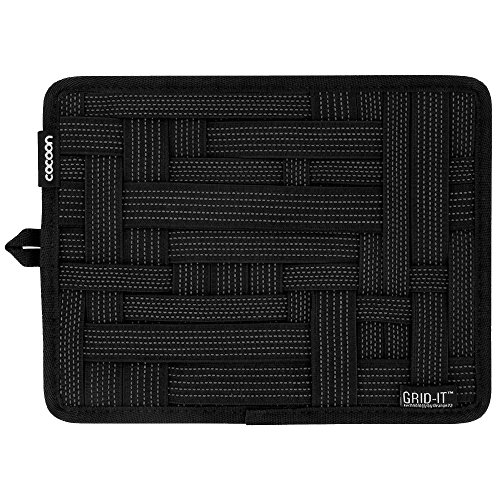 Cocoon CPG7BK GRID-IT! Organizer Small 7.25'' X 9.25'', Black by Cocoon