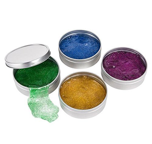 3'' GLITTER PUTTY IN TIN BOX, Case of 6 by DollarItemDirect (Image #3)