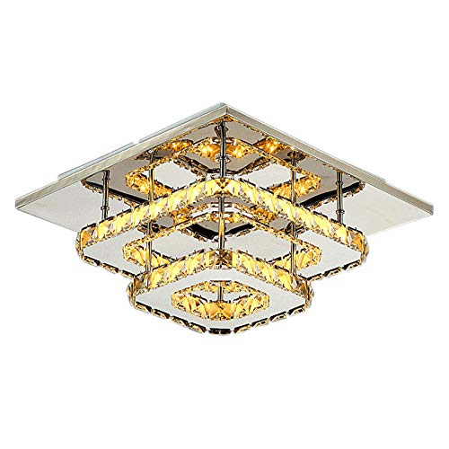 Crystal LED Ceiling Lighting Fixture for Indoor Lamp ...
