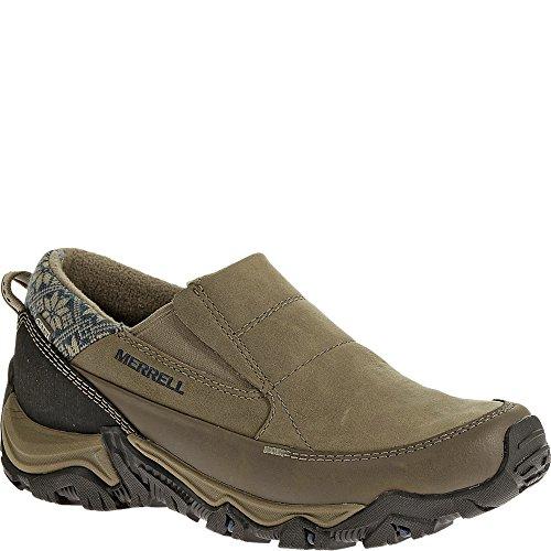Merrell Men S Polarand Rove Moc Waterproof Slip On Shoe