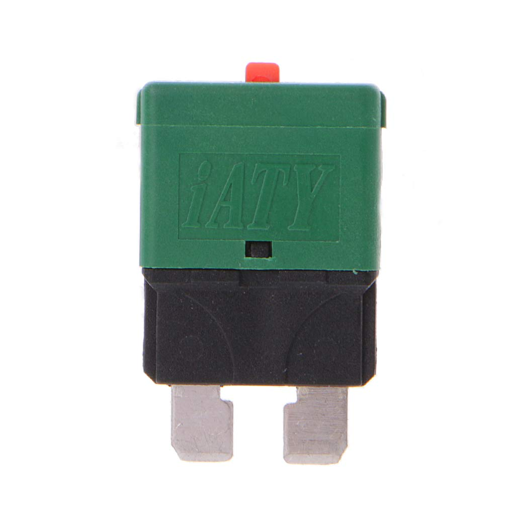 Fewxdsad Circuit Breaker Blade Fuse 28V Resettable 5-30A Marine Rally Automotive Spare Parts