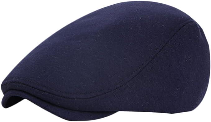 Leisial Sombreros Gorras Boinas con Algodón Ocio Retro Hat Cap ...