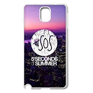 [H-DIY CASE] For Samsung Galaxy NOTE3 -5SOS Rock Music Band-CASE-4