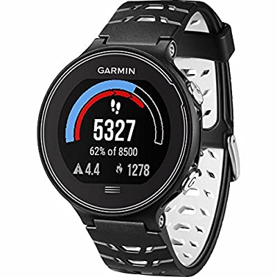Beach Camera Garmin Forerunner 630 GPS Smartwatch - Black and White - Blue Watch Band Bundle Includes Forerunner 630 GPS and Midnight Blue Watch Band