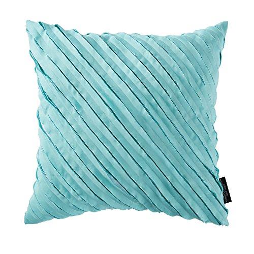 Christian Siriano Square Decorative Pillow, 18'', Capri by Christian Siriano