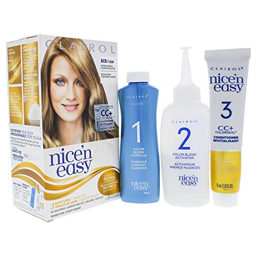 (Clairol Nice N Easy Permanent Color - 8cb 103b Natural Medium Champagne By Clairol for Women - 1 Application Hair)