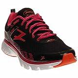zoot shoes - Zoot Women's W Solana Running Shoe, Black/Punch/Solar Flare, 7 M US