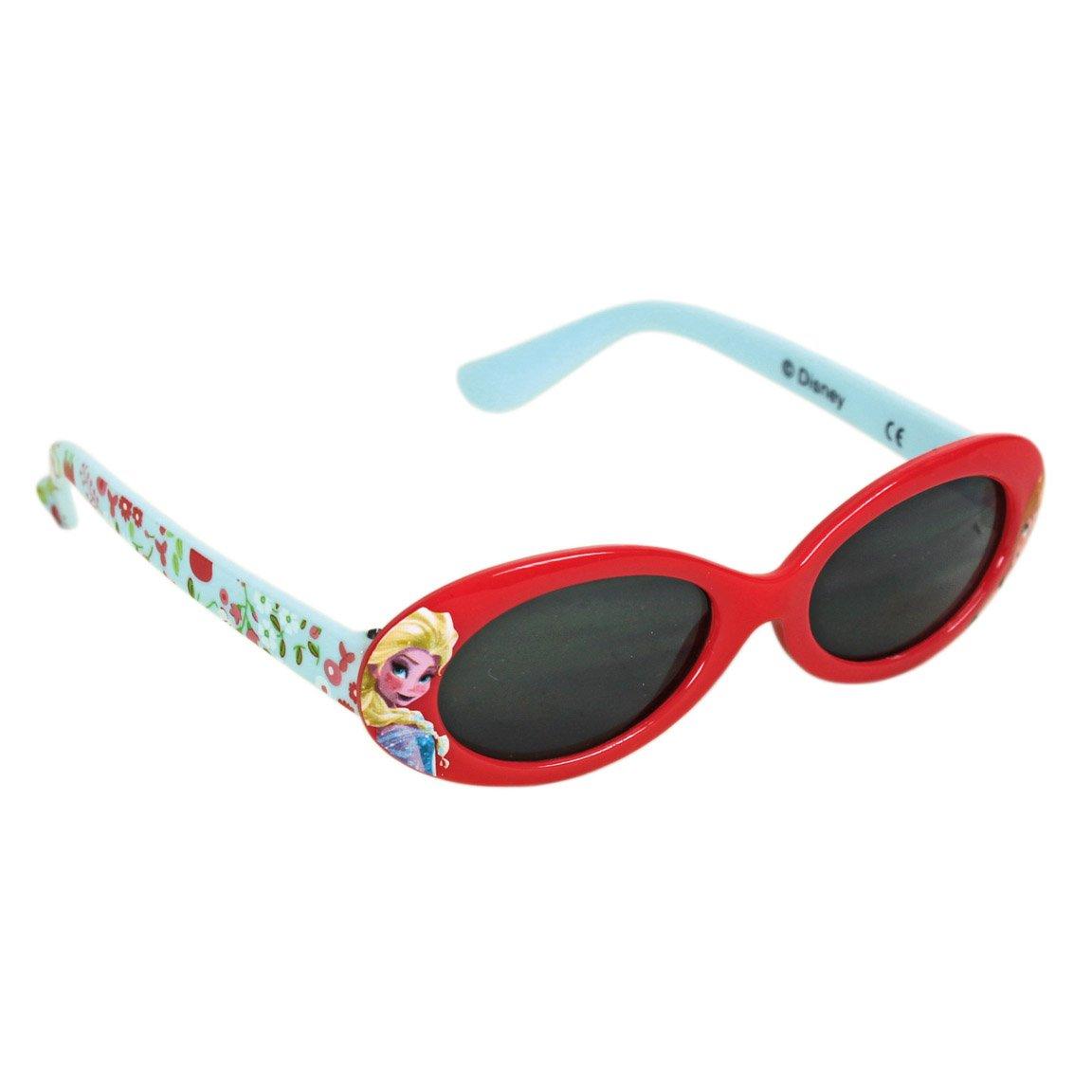 Frozen Die Eiskönigin Kinder Sonnenbrille inkl. Schutztasche 100% UV Schutz Pink