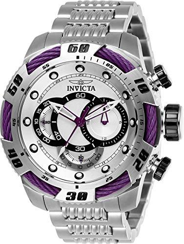 Invicta Men's Speedway Quartz Chronograph Silver Dial Watch (Green) -  27059