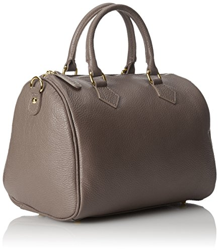 Fango Hand Grey Women 30x23x18cm 100 Satchel Italy Made Bag CTM in qvwdtanzzx
