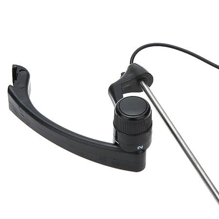 Lixada Conjunto de Alarma de Pesca Inalámbrico Digital con Indicador LED Caja Portable