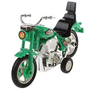 Generic 1:36 Scale Plastic Pull Back Motorcycle Motorbike Diecast Model Toys Gifts