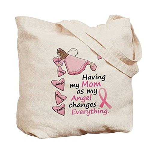 CafePress–Il mio angelo 1(mamma BC)–Borsa di tela naturale, panno borsa per la spesa