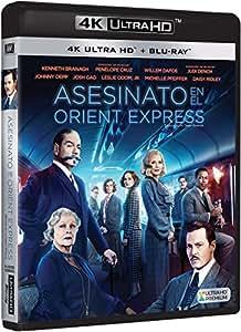 Asesinato En El Orient Express Blu-Ray Uhd [Blu-ray]