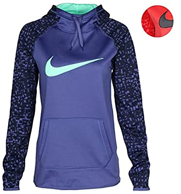 NIKE Women's Dri-Fit Pullover Training Hoodie