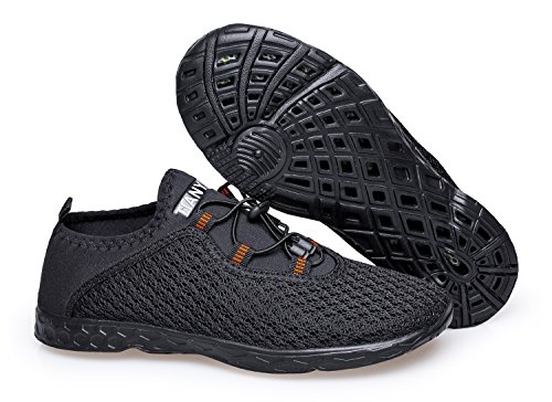 Outdoor Aqua Water Black Vibdiv Shoes Men's Shoes b Mesh Drying Quick q04pwt4
