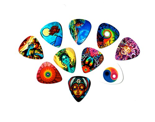 premium-guitar-picks-meditation-package-10-medium-picks-in-a-packet