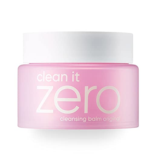 Banila Co NEW Clean It Zero Cleansing Balm Original for Normal Skin 100ml, double cleanser, removes makeup and dead skin cells, with Hot Springs Water, Vitamin E. NO animal Testing. Without Parabens.