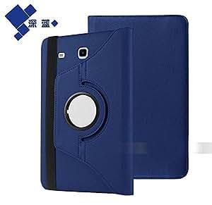 "MeisiterTrade 360 Degree Leather Case Cover cubierta de la caja + Film + Headphone For 7"" Samsung Galaxy Tab A 7.0 SM-T280 SM-T285 Tablet"