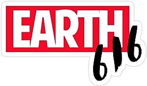 PRINTFIT (3 PCs/Pack) Earth 616 3x4 Inch Die-Cut Stickers Decals for Laptop Book Car Bumper Helmet Water Bottle