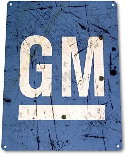 Gmc Dealer - SRongmao GM General Motors GMC Chevy Dealer Service Parts Retro Wall Decor Metal Tin Sign 8x12in