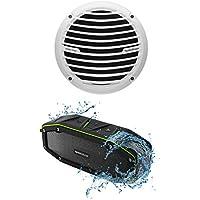 Rockford Fosgate RM112D4 12 400W Marine/Boat Subwoofer Prime M1 Sub+Speaker