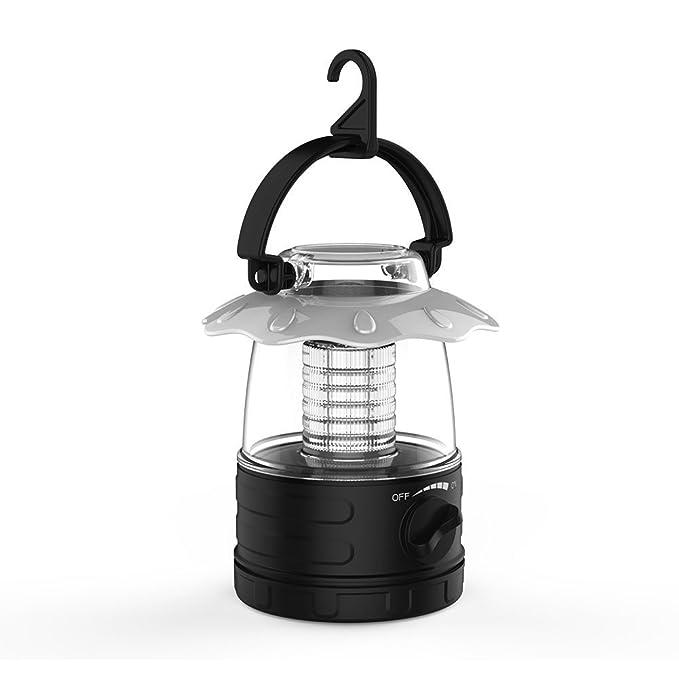 Camping Lantern con 1000 Lux Brillo, Linternas LED portátiles resistentes a la lluvia con modo 5 - Kit de supervivencia para emergencias, Iluminación del ...