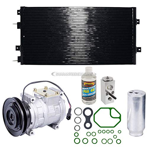 A/C Kit w/AC Compressor Condenser Drier For Chrysler 300M Dodge Intrepid - BuyAutoParts 60-89282CK New ()
