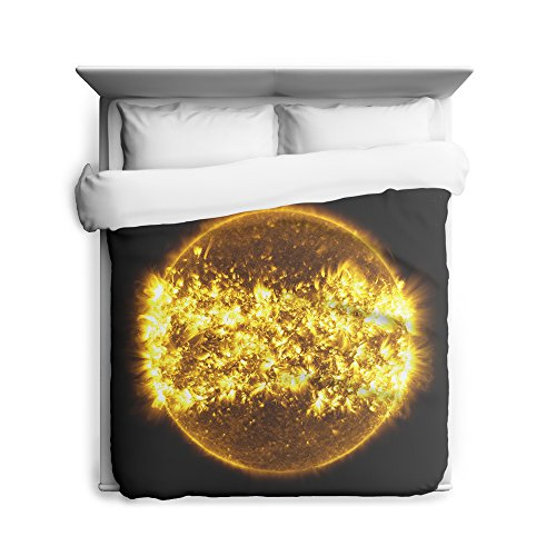 Solar Cycle, Sun, Space, Galaxy Duvet Cover by Sharp Shirter