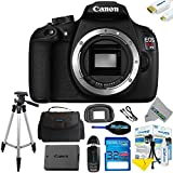 Canon EOS Rebel T5 DSLR Camera (Body Only) + Expo-Basic Accessory Kit - Int ....