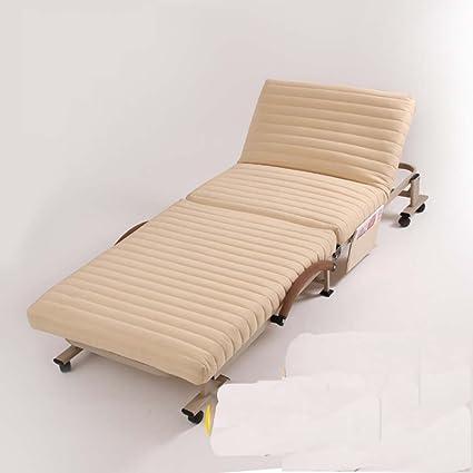 Amazon.com: RWUEFSJV Folding Bed/Single Bed/Office Nap/Bed ...