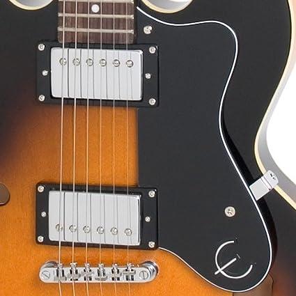 Epiphone Dot - Guitarra eléctrica, color vintage sunburst: Amazon ...