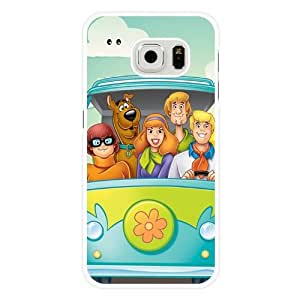 A-Lee ? Scooby-Doo Movies Lovely Great Dane Dog Samsung Galaxy S6 edge Case White Hard Plastic by ruishername