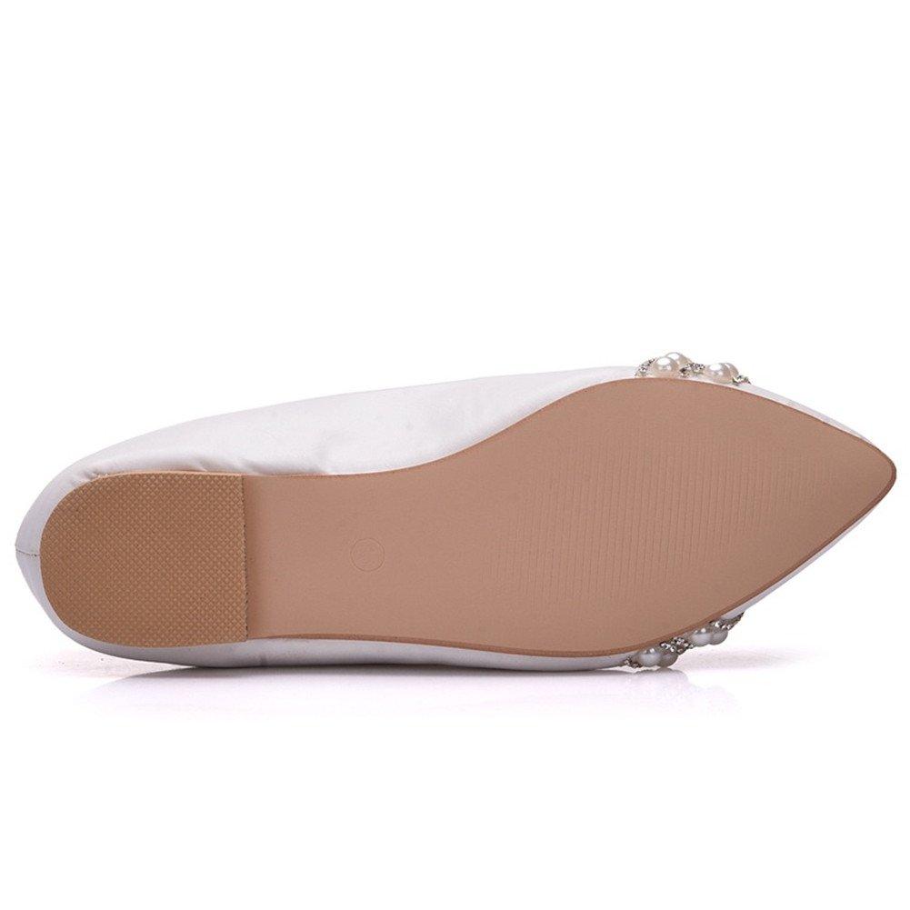 2d245c84 MSFS Zapatos De Mujeres Mocasines Planos Boda Bailarina Perla Diamante De  Imitación Novia Fiesta Tamaño 35 A 42: Amazon.es: Deportes y aire libre